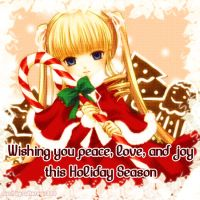 Rozen Maiden Christmas card by Grave-Robber-Jess
