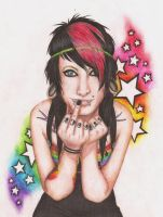 Rainbows and Stars by AliciaEvan