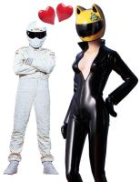 SILENT LOVE the Stig and Celty by TeenTitans4Evr