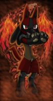 And there was fire in his eyes by Marik-fan