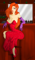 Jessica Rabbit by anime-fan-addict