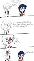 Ice and Drake: Doubtful by AVipersKiss
