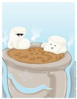 Hot Cocoa Sauna by mochithoughts