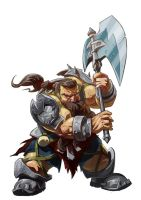 Readying dwarf by Tregis