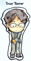 Bruce Banner by gingerwithattitude