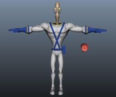 Earthworm Jim Ver. 1 by EvilHayato