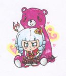 Sweetheart Annie Keychain by Junelle-O