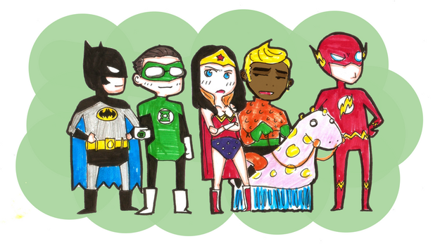 The Justice League Theorem by yoodadude