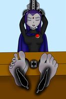 Raven tickled by Veroom