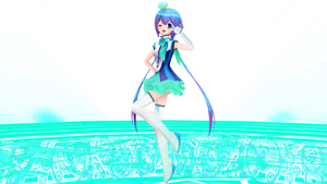 MMD - Sailor Aoki~ by gokingdomhearts917