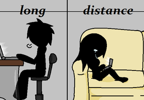 Long Distance by luni99