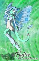 Flutter the Faerie Dragon by WhiteWitchsDaughter