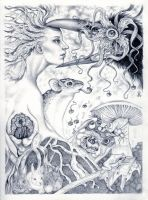 Mother Nature EC with Larkin by franciart