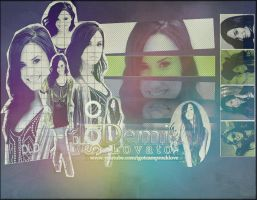 Demi Lovato Background by Degratest