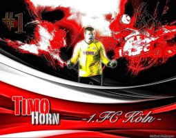 Timo Horn 1.FC Koeln by EffzehWallpaper