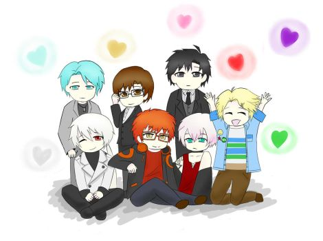 Mystic Messenger Birthday by WasabiMonster28