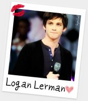 Logan Lerman by kyochel