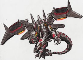 Mecha-Dragon Colored by TITANOSAUR