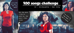 100 Songs Challenge 012 Silouette by BellaBlackCrews