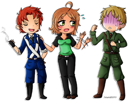Hetalia: Axis Powers - Commission Nuyy93 by Selaphi