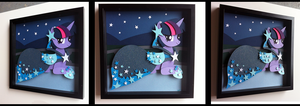 Shadowbox:  Gala Dress Twilight Sparkle by The-Paper-Pony
