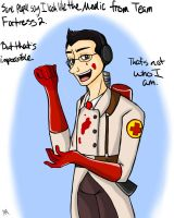 Markiplier the Medic by anonymouswind