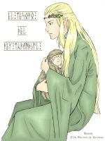 King Thranduil's treasure by EmberRoseArt