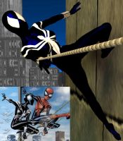 Spidergirl-Black by Roguewing