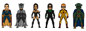 Crime Syndicate- alternate JL by Rated-R4-Ryan