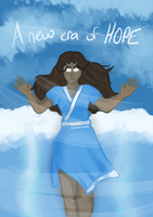 The World's Only Hope - Avatar Katara by TheNocturneFox