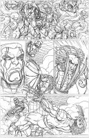 ULTIMATE X-MEN WOLVERINE AND COLOSSUS PAGE 002 by nathanscomicart