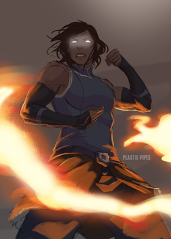 Korra Appreciation Month: Stronger by plastic-pipes