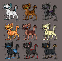 adoptables. by StrawberryPopcorn