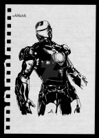 Iron man, mark 3 by Jimroot17