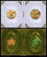 Mage Wars - Spell book sleeves - SET 3 by Deligaris