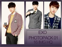PHOTOPACK 01 EXO by tutosparakpop