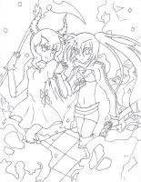 BRS and DEAD MASTER by ThrushFeather