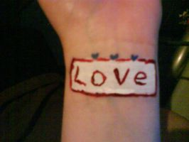 To Write Love on Her Arms by PoisonedRazorBlades