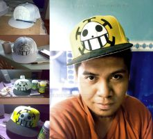Trafalgar Law fitted cap customize by Elison182