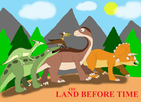 The Land Before Time: The Original Cast by TyrannosaurusRex-123