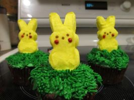Pokemon Cupcakes- Chu's Only by Pigpeter