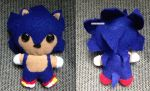 Sonic the Hedgehog Plushie by CheesyHipster