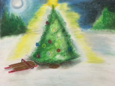 Christmas in the Woods by FiremanHippie