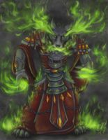Fel Fire by DuskDiamond
