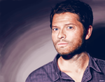 Misha Collins by p1xer