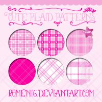 Cute Plaid Patterns by Romenig