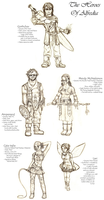 LARP Party Concepts by TehPickle