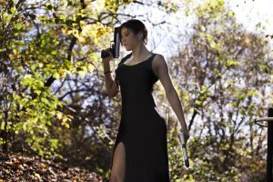 Lara Croft - TR III - Dress 01 by ImeldaCroft