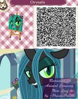 Queen Chrysalis Animal Crossing QR Code by PrismsPalette