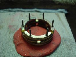 Articulated ring -step 6- by Vassilius